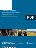 Facilitating Tourism Investment in the Maputo Elephant Reserve