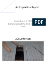 Move-In Inspection Report