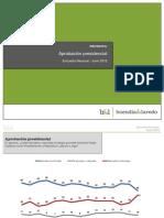Encuesta Aprobatoría a Felipe Calderón - Junio 2012