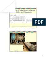 Shell and Tube Heat Exchanger Codes and Standards