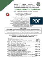 Consenso em Voz Profissional 2004