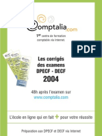 Sujet Corrige Decf Uv7 2004