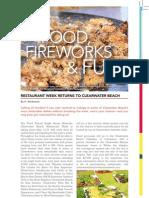 Food, Fireworks and Fun by H. Wadowski