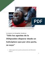La masacre en Mosquitia, Honduras