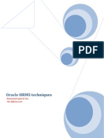 Oracle HRMS Techniques _To Remove or Edit Messages
