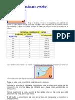 PCH POTENCIAL (calculo vazão e potencia)