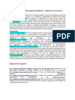 Ventajas y Desventajas Del Lenguaje Ensamblador-Registros