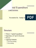5 Capital Expenditure Decisions 19.4.06