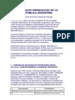 Centrales Hidraulicas de La Republica Argentina