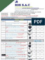 Lista Mayo 2012-Distrib Dolares