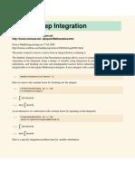 Integration Steps