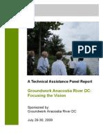 Groundwork Anacostia River DC ULI Panel