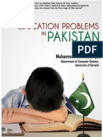 Education Problem in Pakistan