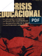 Crisis Educacional Chilena