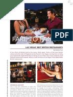 Fare to Fancy by Heather Turk