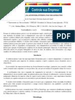 A IMPORTÂNCIA DA AUDITORIA INTERNA NAS ORGANIZAÇÕES