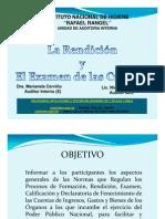 Charla Rendicion y Examen de Las Cuentas