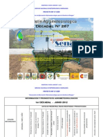 1er Decadal Nro. 267-Junio 2012-Valles-La Paz Centro, Cochabamba Sucre, Tarija, Valle Grande
