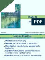 Chapter 15 Organizational Behavior ( Dr. Ahmed Abdel Hady)