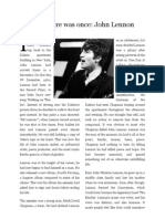 John Lennon Article