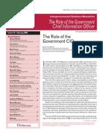 Role of Government CIO
