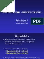 Hipo e Hipernatremia2007