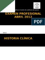 Examen Profesional