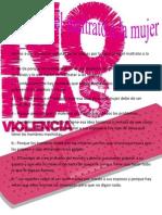 Causas Del Maltrato a La Mujer
