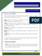 Ficha Osorio Ficha Estructura de Textos Academicos