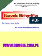 C7 BÚSQUEDA BIBLIOGRÁFICA