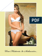 Catálogo de lencería Concepto Latino 2012