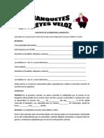 CONTRATO DE CELEBRACIÓN y BANQUETES
