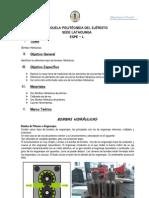 Informe Sobre Bombas Hidraulicas