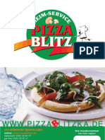 Pizzablitz Karlsruhe -  Menu