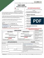 Fast Card Canada Application