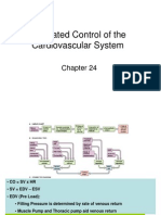 11 Integrated Control of the Cardiovascular System Ch. 24