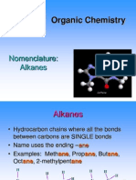Student Organic - Alkanes