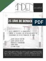 Andén 01 - 25 años de Democracia