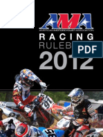 AMA Racing Rulebook 2012