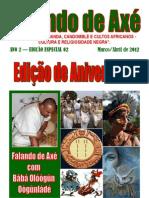 Edição de Aniversário Março e Abril de 2012