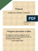 Clase Pliegues