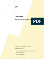 Irish Census Principal Demographic Results 2006