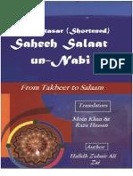 Saheeh Salat Un-Nabi English