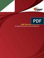 IAAF Starting Guidelines (Jan 2010)