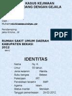 Presentasi Kasus Depresi Sedang Dengan Gejala Somatik EDIT (Dr. M. Wirawan a)