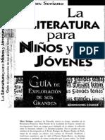 Soriano Marc - La literatura para niños y jóvenes