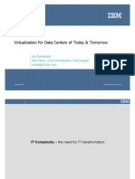 Virtualization for Data Centers of Today Tomorrow