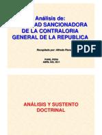 Facultad Sancionadora de La CGR
