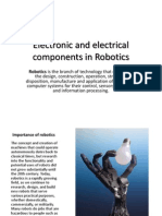 Electronic and Electrical Components in Robotics