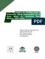PLAN ESTRATEGICO de TURISMO Desarrollo Rural Sustentable